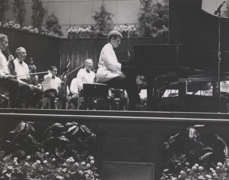 Van Cliburn at Fairmount Park, 1968